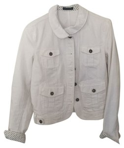 Tommy Hilfiger White Womens Jean Jacket