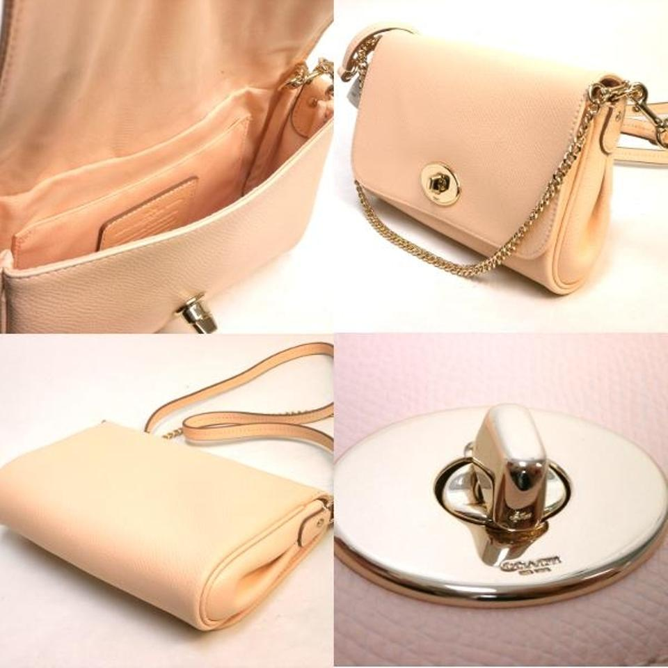 e8496d0cc9 ... germany coach convertible leather turnlock chain strap 3 way cross body bag.  1234567891011 76211 dbd73 ...