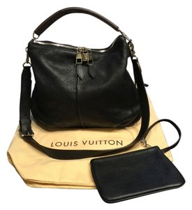 Louis Vuitton Like New Rare Silver Hardware Hobo Bag