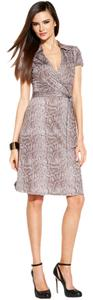 INC International Concepts short dress Snakeskin print on Tradesy
