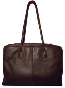 Coach Briefcase Tote Leather 9703 Laptop Bag