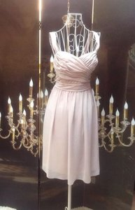 Jasmine Bridal Champagne Chiffon Mother Of Bride Modern Bridesmaid/Mob Dress Size 10 (M)