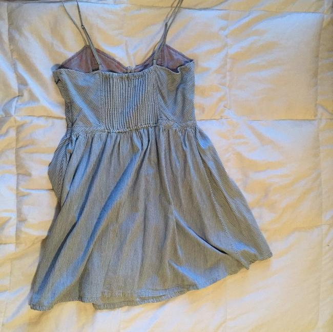Free People short dress Blue and white stripes on Tradesy