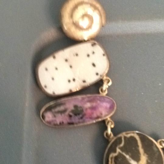 Echo of the Dreamet Amethyst/natural Stone Necklace