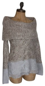 Anthropologie Cowl Neck Ombre Sweater