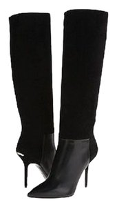 Burberry Fashion Leather Suede Italy Black Boots