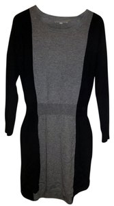 Ann Taylor LOFT Sweater Color-blocking Dress