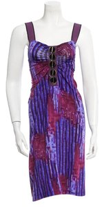Philosophy di Alberta Ferretti O-ring Accents Shoulder Straps Sleeveless Dress
