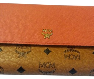 MCM Wallet MCM LOVE LETTER VISETOS LONG WALLET & Coin purse