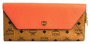 MCM MCM Love Letter Visetos Long Wallet