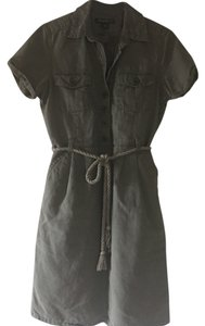 Eddie Bauer short dress Army Green on Tradesy