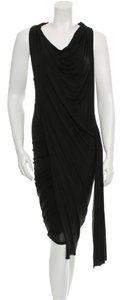 Alexander Wang Sleeveless Cowl Neck Draped Dress