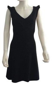 Diane von Furstenberg Designer Wool Mini Flair Dress