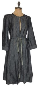 Tocca Denim Trench Coat