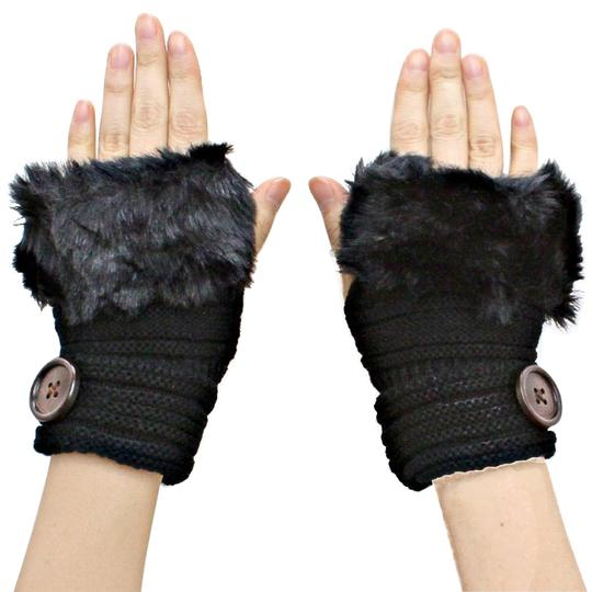 Preload https://item1.tradesy.com/images/black-knitted-fur-trimmed-fingerless-button-accent-gloves-5867485-0-0.jpg?width=440&height=440