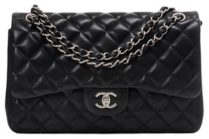 Chanel Cc Jumbo Shoulder Bag