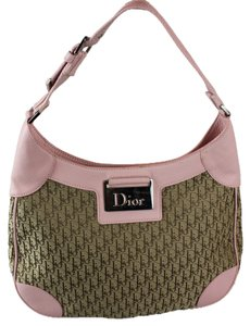 Dior Satchel in Pink/Brown