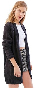 Urban Outfitters #sheerback #chunkyknit Cardigan