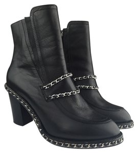 Pixie Market Black Ankle With Metal Accents Boots