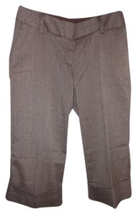 Gap Capri/Cropped Pants Brown Tweed