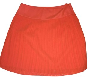 Ann Taylor LOFT Skirt Orange