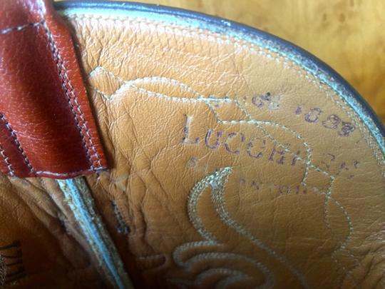 Lucchese Lacchese Men's Cowboy Boots Whiskey Colored Beauties