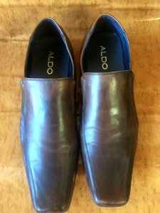 ALDO Men's Aldo Shoes Leather Size 47 Euro Us Size 14