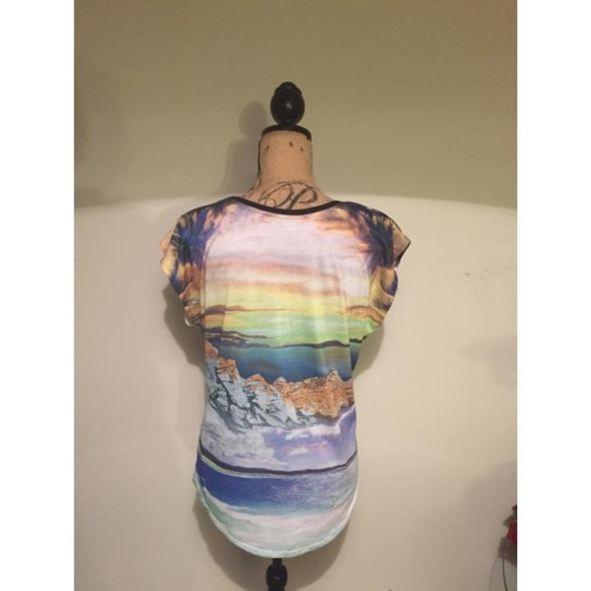 Express graphic tee size m Top Mulit color