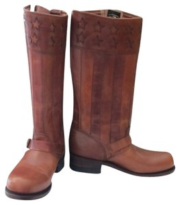 Frye Vintage Leather BROWN Boots