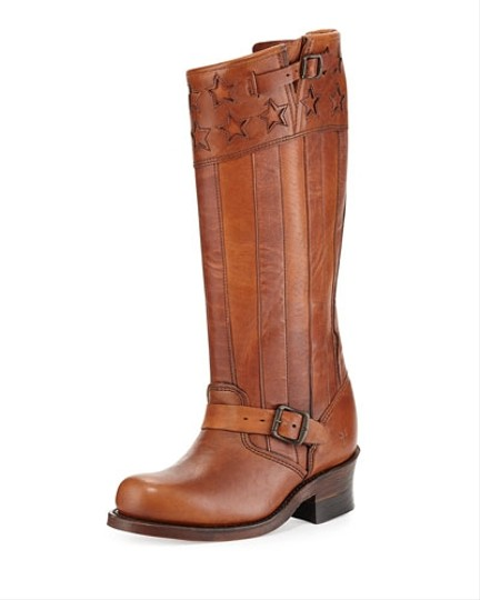 Frye Vintage Leather Riding BROWN Boots