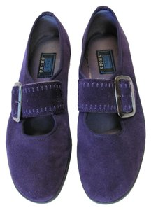 Keds Very Good Condition Size 7.50 M Leather Purple Flats