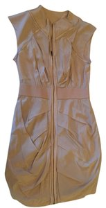 bebe short dress Beige on Tradesy