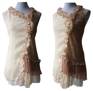 Pretty Angel short dress Cream on Tradesy