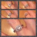 Other SUNDAY ONLY SALE New 925 Sterling Silver CZ Engagement/Wedding/Anniversary Ring Sz 6 Image 2