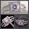 Other SUNDAY ONLY SALE New 925 Sterling Silver CZ Engagement/Wedding/Anniversary Ring Sz 6 Image 3