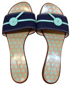 Kate Spade Navy/green Sandals