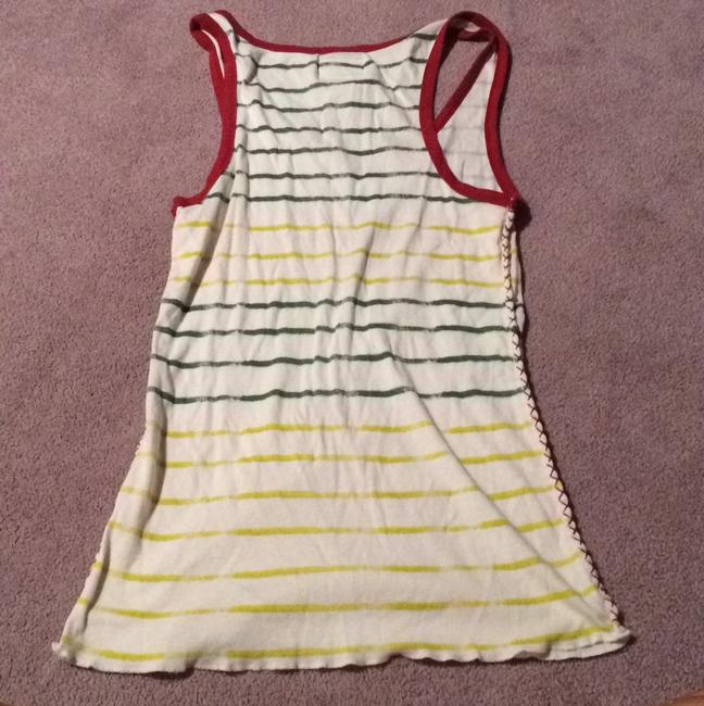 Lucky Brand Top Red Yellow Green Image 4