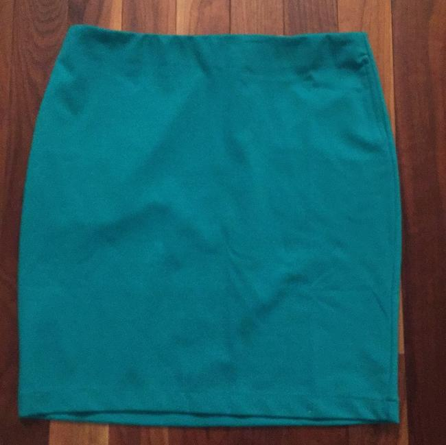 Merona Green Never Worn Work Clothes Wear To Work Dressy Pencil Skirt Turqouise