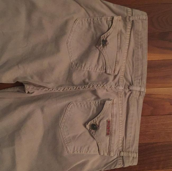 Hudson Jeans Khakis Never Worn Flare Pants Tan
