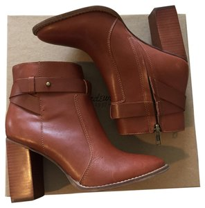 Madewell Sammie Boot Bootie Russet Brown Boots
