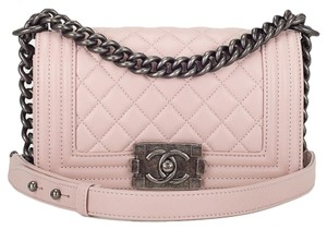 Chanel Boy Cross Body Bag