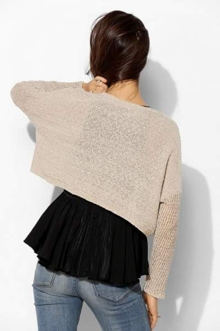 Urban Outfitters Starring Stars Cropped Uo Anthropologie Sweater Image 2