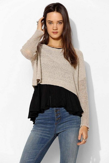 Urban Outfitters Starring Stars Cropped Uo Anthropologie Sweater Image 3