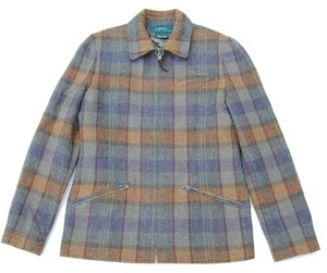 Ralph Lauren Wool Plaid Multi Jacket