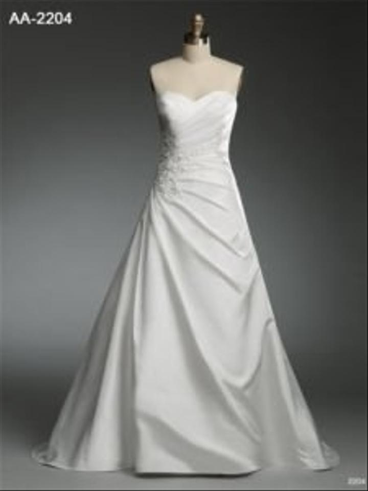 Alfred angelo c 2204 wedding dress tradesy weddings for D angelo wedding dresses