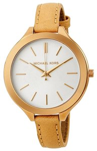 Michael Kors *NWOT* Michael Kors Mid-Size Runway Rose Gold-tone Stainless Steel Ladies Watch MK2284
