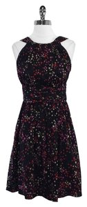 Trina Turk short dress Multi Color Star Print Silk on Tradesy
