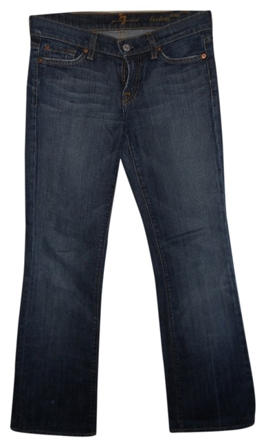 Preload https://item2.tradesy.com/images/7-for-all-mankind-boot-cut-jeans-dark-rinse-5875021-0-0.jpg?width=400&height=650