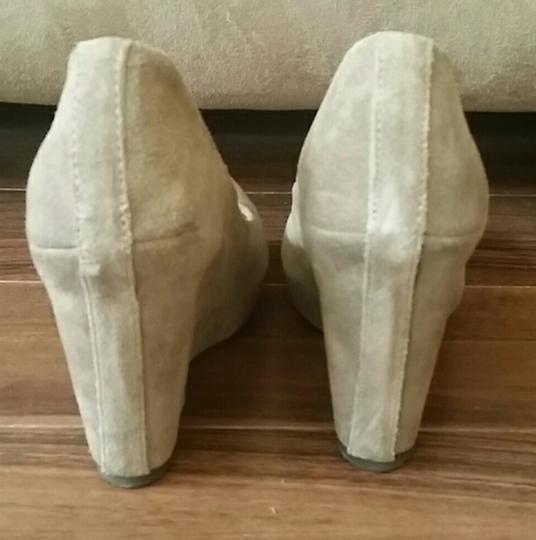 MIA Taupe Wedges