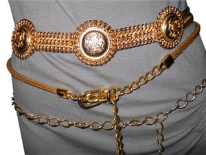3 gold chain belts
